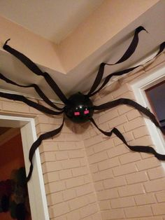 Minecraft spider. Party decor