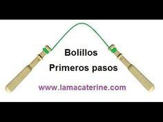 Encaje de bolillos: Primeros pasos www.lamacaterine.com http://lamacaterine.blogspot.com/