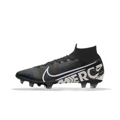 Nike Mercurial Superfly 7 Elite FG By You Custom Firm-Ground Soccer Cleat (Multi-Color) Nike Football Boots, Soccer Boots, Football Stuff, Nike Cleats, Soccer Cleats, Rugby Equipment, Nike Co, Football Wallpaper, Superfly