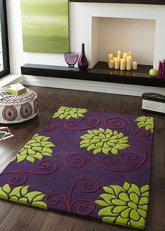 express rugs rosetta rug rs10 purple green