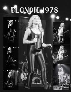 blondie photos 1978 | BLONDIE 1978 US Letter edition £14.99