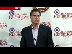 Mitt Romney: Backwards on Equality - This is the only time I've ever seen this guy speak and I hate him instantly and with every fiber of my being.