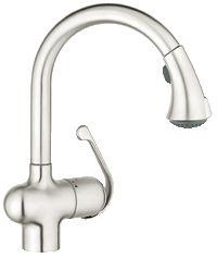 Grohe Ladylux Café Single-lever kitchen faucet (Carole)
