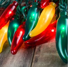 Chili pepper lights add a festive, southwestern flavor to outdoor entertaining. Wind these chili pepper lights around a fence, patio, deck, or for fun, your Christmas tree. They add a spicy flair to any indoor or outdoor activity year-round