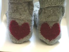 Knitting Ideas | Project on Craftsy: Heart Socks