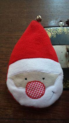 stefanie-perlenfee Weihnachtsmann in der Kugel