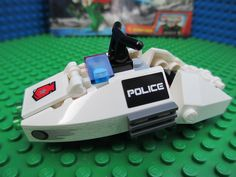 lego space instructions | Lego Space Police Speeder Bike with Instructions NO MINIFIGURES Hover ...