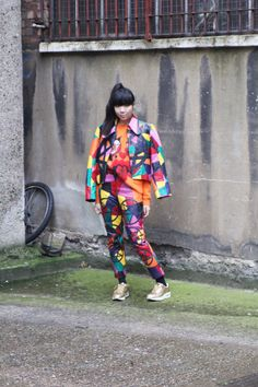 Susie Bubble in Meadham Kirchhoff x Topshop