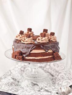 Tarta de Nutella y chocolate