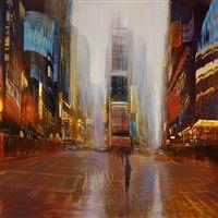 City Reflections by David Allen Dunlop