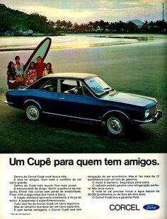 Anúncio Ford Corcel Cupê - 1970