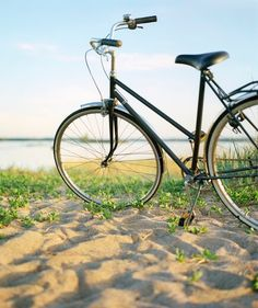 Tip of the Day   Bicycles They get roughed up in the great outdoors. Road dust, brake-pad particles, and dirt build up on the body.  Season kickoff: When you check the tire pressure and reinflate as needed, also wipe down the seat, the handles, the spokes, and the frame with a damp cloth.  Every month or so (and after a muddy ride): Clean the chain with a cotton cloth dipped repeatedly in a small bucket containing 2 cups Simple Green All-Purpose Cleaner and 2 cups warm water.