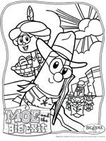 Moe And The Big Exit Coloring Pages