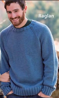 Un pull basico per tutti grandi e piccoli Mens Knit Sweater Pattern, Sweater Knitting Patterns, Knit Cardigan, Hand Knitting, Men Sweater, Mens Jumpers, Knitting Projects, Knitwear, Pullover