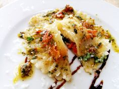 Summer must try: Caprese ravioli with roasted tomato sauce
