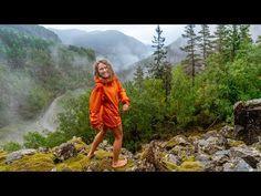 Our eusaian vanlife trip continues in Norway! But on the other hand the scenery is beautiful! Travel Vlog, Van Life, Norway, Waterfall, Scenery, Youtube, Beautiful, Landscape, Van Living