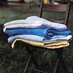 Image of Natural Cotton Fleece Cot Blanket (100 x 150 cm)