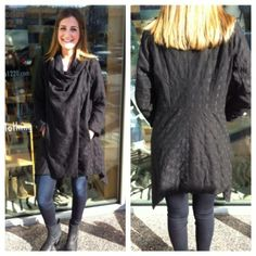 Black Magic Woman! Put your spell on the world in Studio 1220's sizzling swing coat. Studio 1220, SoCal BoHo Chic and Beyond. www.studio1220.com