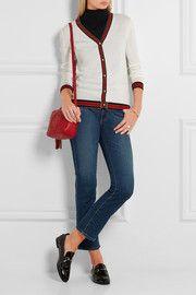 GucciStriped wool cardigan