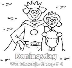 Koningsdag Werkboekje Groep 7-8