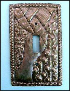 Switch Plate Cover - Metal Switchplate Covers - Haitian Metal Art - Si – Haiti Gallery