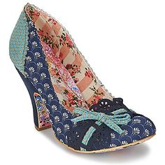 scarpins Irregular Choice MAKE MY DAY Azul 350x350