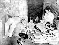 Humilde familia cubana antes del triunfo de la Revolución