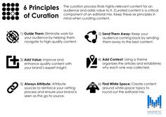 6 Principles of Content Curation - by Magnetic Content - http://www.mediaispower.com/google-reinforces-the-value-of-content-curation