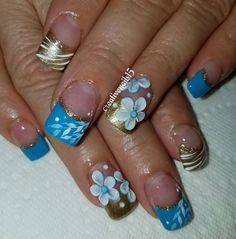 Nail Bling, Nail Designs, Beauty, Nail Jewels, Nail Desings, Beauty Illustration, Nail Design, Nail Organization, Nail Art Ideas