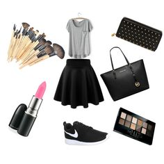 Designer Clothes, Shoes & Bags for Women Maybelline, Mac Cosmetics, Polyvore Fashion, Alexander Mcqueen, Michael Kors, Nike, Stuff To Buy, Shopping, Design