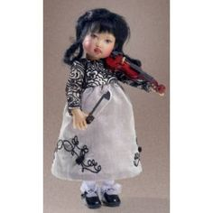 Concert Zsu Zse Outfit Only Including Violin - Doll Peddlar