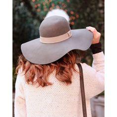Nordstrom Wool Floppy Hat