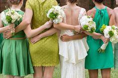 Green DIY Outdoor Virginia Wedding {Gayle Driver Photography}