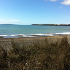 Tramore beach, Waterford, Ireland. I used to go here with my Grandpa, Billy!