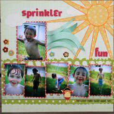 sprinkler+fun - Scrapbook.com