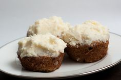 Happy Sweet Sunday, everybody. Today's featured sweet are carrot cake cupcakes with cream cheese frosting, made by my wife. They were delicious.