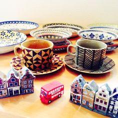 女性で、3LDK、家族住まいのミニチュアのオランダのお家/ミニチュアの家/お気に入りの食器/コーヒーカップ&ソーサー…などについてのインテリア実例を紹介。
