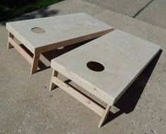 Cornhole Boards - Ready to Finish Corn Hole Game, Cornhole Boards, Stool, Table, Fun, Furniture, Home Decor, Decoration Home, Room Decor