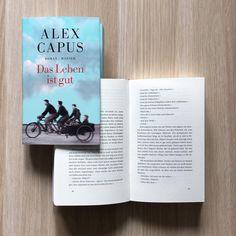 """Livestream-Lesung mit Alex Capus: Am Montag, 19.9. liest Alex Capus im Livestream aus seinem Roman """"Das Leben ist gut"""". Seid ab 19.30 Uhr am Bildschirm dabei, stellt Fragen und gewinnt signierte Exemplare. Also alle Termine am Montagabend absagen, fett """"LOVELYBOOKS LIVESTREAM"""" in den Kalender schreiben und einschalten! Den Link gibt's im Profil! #lblive"""