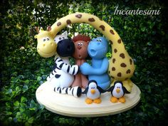 Madagascar by ArtWen porcelana fria polymer clay