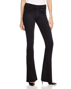 True Religion Runway Flare Jeans in Boho Black