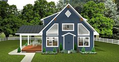 Side Deck, Lots Of Windows, Cabin Design, Curb Appeal, Designers, Layout, How To Plan, Page Layout, Sidewalk