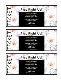 Ticket Invitation Template Event Ticket Template, Ticket Template Free, Retirement Invitation Template, Printable Invitation Templates, Ticket Invitation, Templates Printable Free, Wedding Invitation Templates, Party Invitations, Word Templates