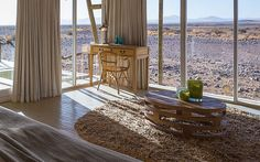 The Little Kulala Desert Lodge offers a most luxurious desert retreat from which best to explore the beautiful surroundings. Located in the Thousands of hectares Kulala Wilderness Reserve near Namibia's hyenas Sossusvlei Pan. Lodges, Luxury, Cabins, Chalets