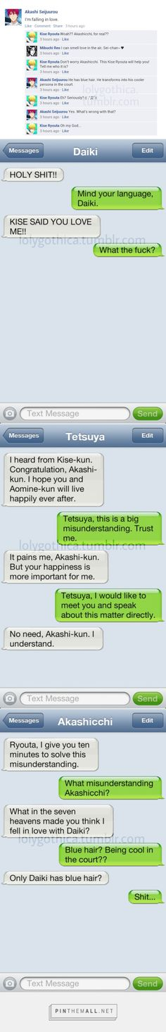 A little Akashi x Kuroko. ::: Hurry Kise! Σ(゚д゚lll)