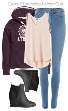 """""""The Originals - Davina Claire Inspired Winter Outfit with requested hoody"""" by staystronng ❤ liked on Polyvore"""