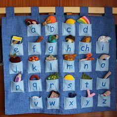 Montessori abeceda