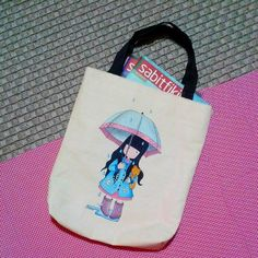 Gorjuss cotton bag.