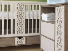 Holly charms on the cot and commode