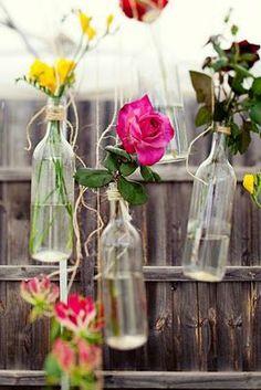 Haning flower vases